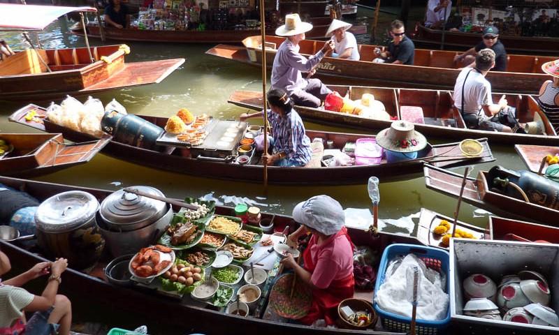 Marché Flottant de Bangkok