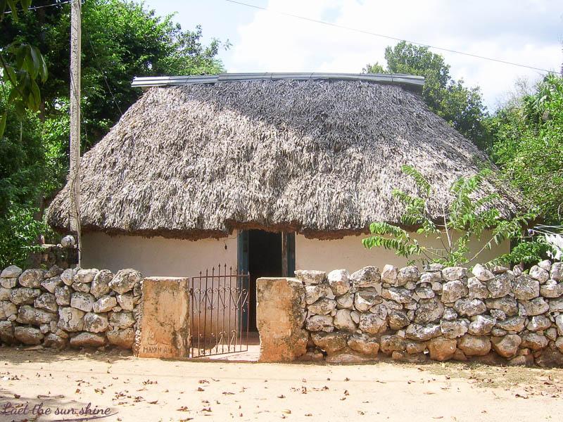 Maison typique Maya